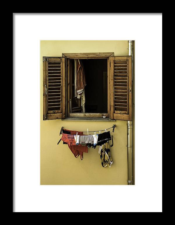 Curtis Framed Print featuring the photograph Clothes Dryer by Curtis Dale
