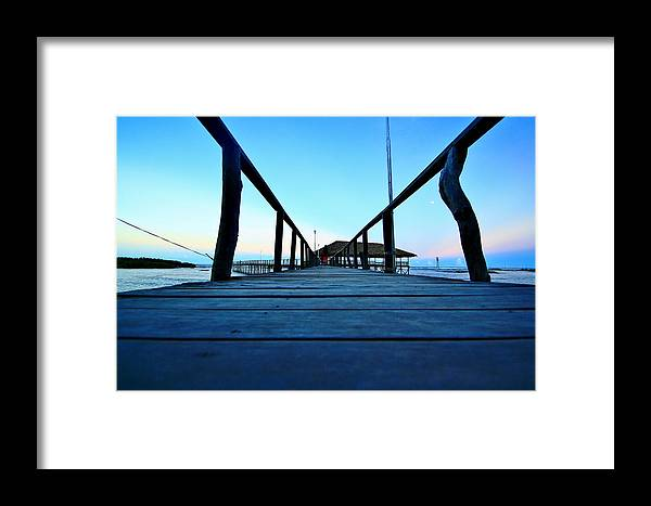 Seascapes Framed Print featuring the photograph Cloud 9 by Ferli DCruz
