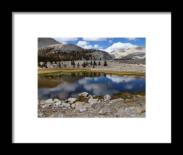 Eastern Sierra Nevada Framed Print featuring the photograph Cloud Cover by Amelia Racca