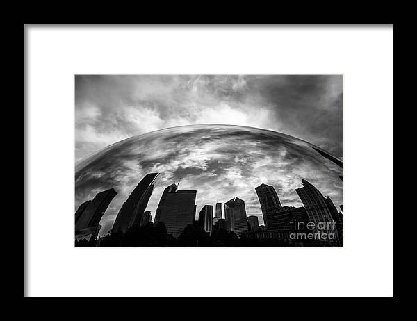 Bean Framed Print featuring the photograph Cloud Gate Chicago Bean by Paul Velgos