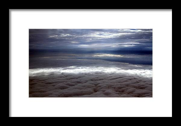 Cloud Framed Print featuring the photograph Cloud Layers 1 by Maxwell Amaro