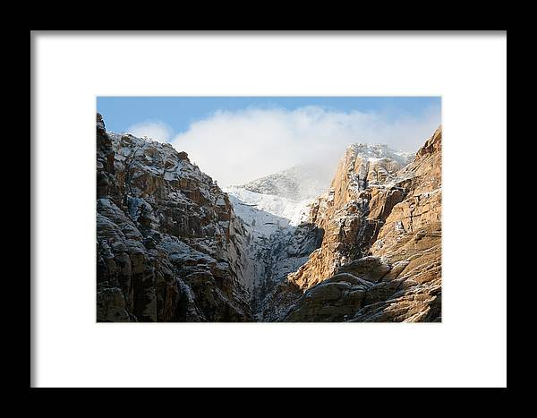 Mountains Framed Print featuring the photograph Cloud Pass by Dennis Galloway