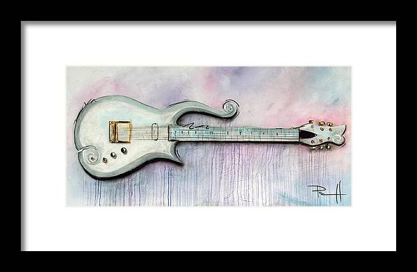 Prince Framed Print featuring the painting Cloud by Sean Parnell