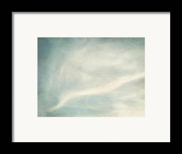 Brett Framed Print featuring the digital art Cloud Series 6 Of 6 by Brett Pfister