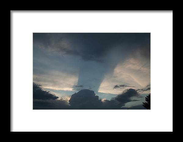 Sky Framed Print featuring the photograph Cloud Shadow by David S Reynolds