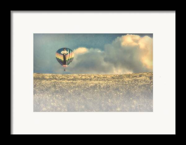 Nature Framed Print featuring the photograph Clouds Within Clouds by Bob Orsillo