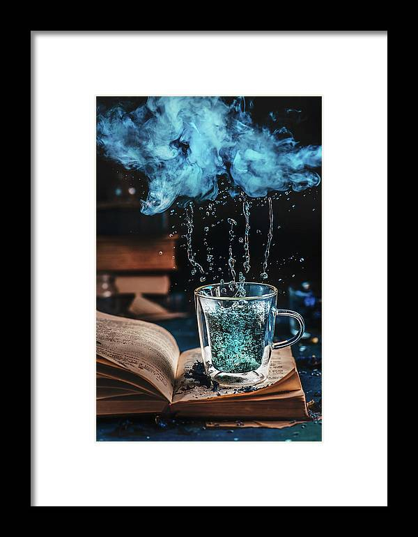 Cloud Framed Print featuring the photograph Cloudy Days by Dina Belenko