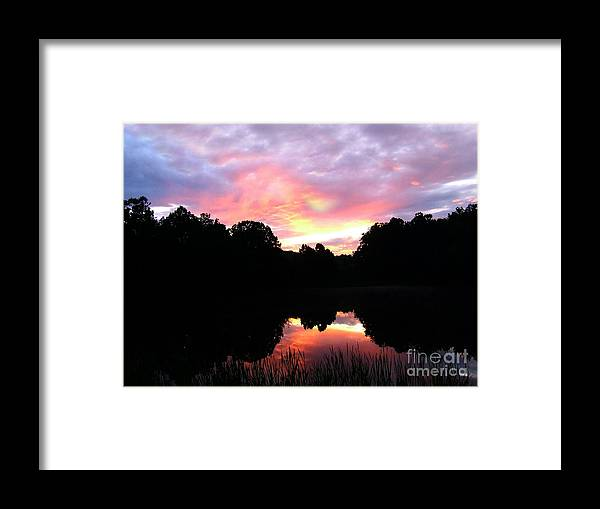 Hot Skys Framed Print featuring the photograph Cmpo59a by Scott B Bennett