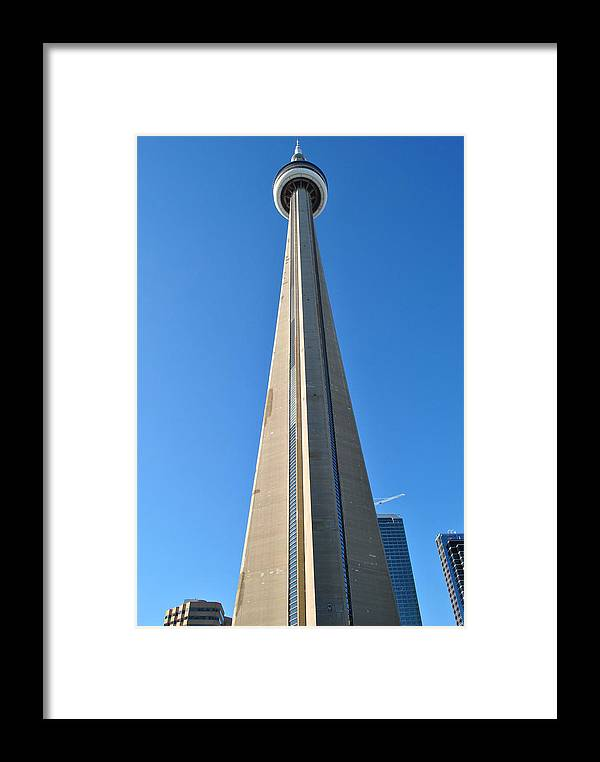 Cn Tower Framed Print featuring the photograph Cn Dreaming by Jim Hogg