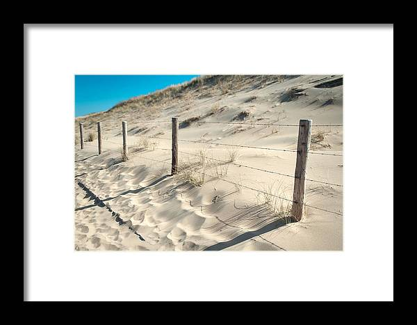 Nature Framed Print featuring the photograph Coastal Dunes In Holland 3 by Jenny Rainbow