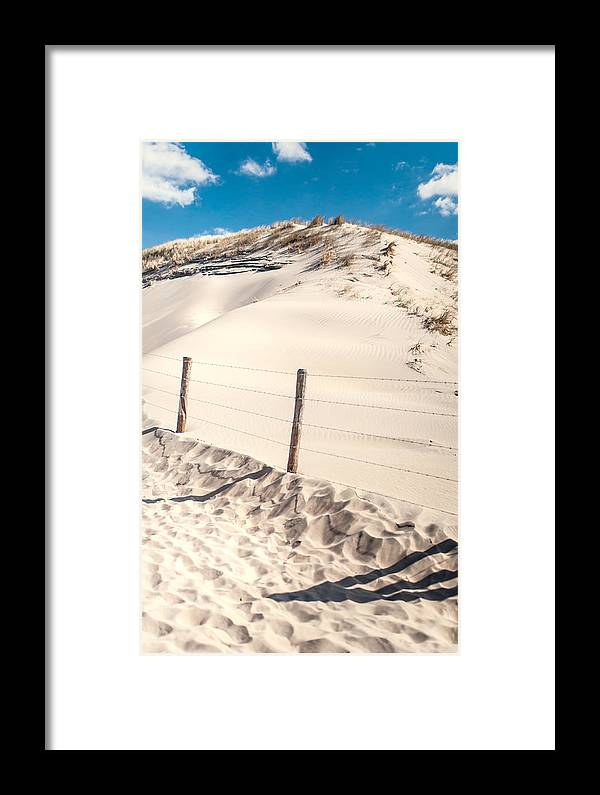 Nature Framed Print featuring the photograph Coastal Dunes In Holland by Jenny Rainbow