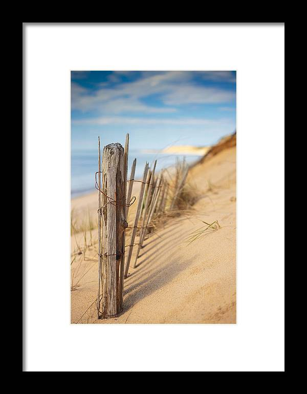 Coastline Framed Print featuring the photograph Coastline by Dapixara