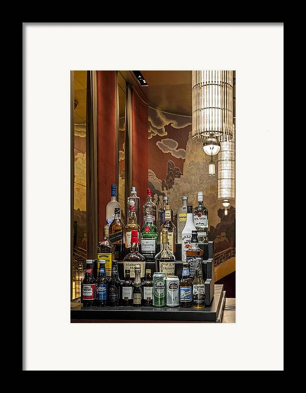 Nyc Framed Print featuring the photograph Cocktail Hour by Susan Candelario