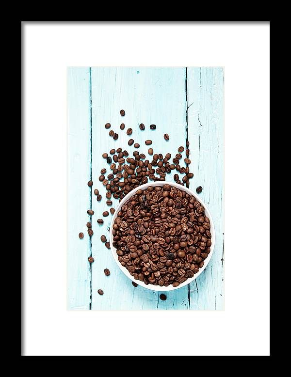 Heap Framed Print featuring the photograph Coffee Beans by Barcin