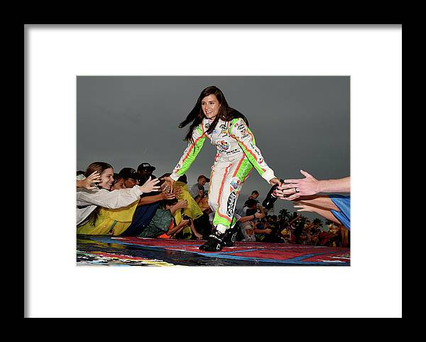 Sport Framed Print featuring the photograph Coke Zero 400 Powered By Coca-cola by Patrick Smith