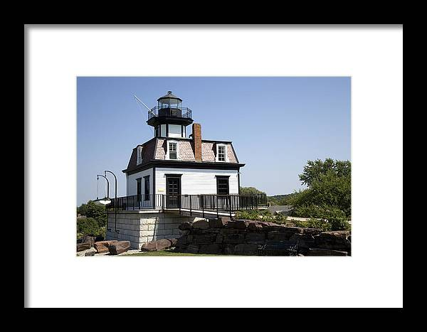 Horizontal Framed Print featuring the photograph Colchester Lighthouse by Jim Wallace