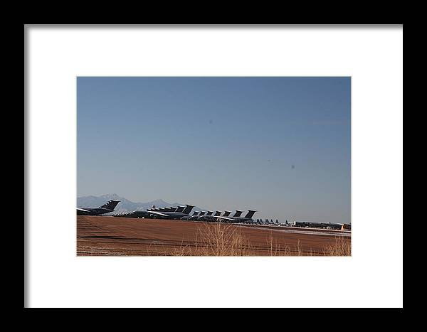 Air Force Framed Print featuring the photograph Cold Storage by David S Reynolds