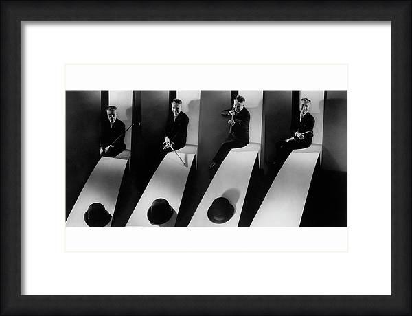 Collage Of Charlie Chaplin by Edward Steichen
