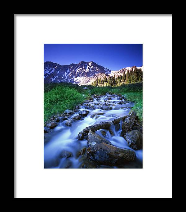 Colorado Framed Print featuring the photograph Colorado High Country by Ray Mathis