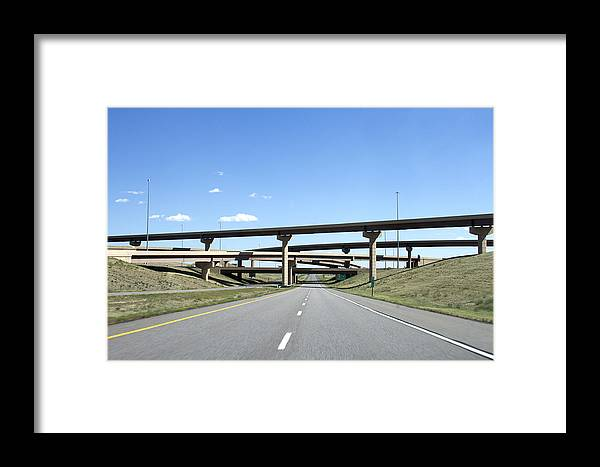 Colorado Framed Print featuring the photograph Colorado Highway by Don Hill