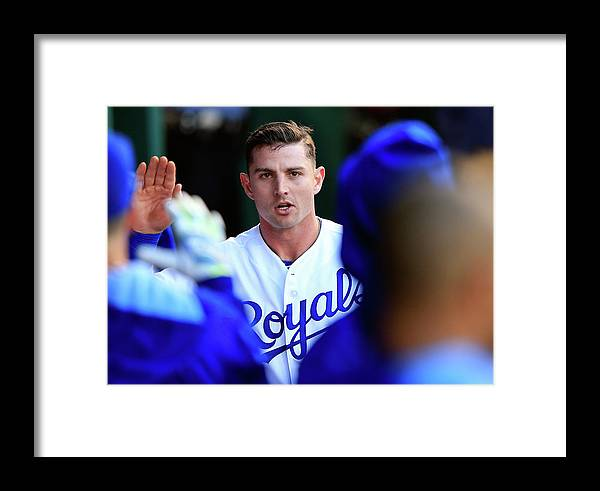 American League Baseball Framed Print featuring the photograph Colorado Rockies V Kansas City Royals by Jamie Squire