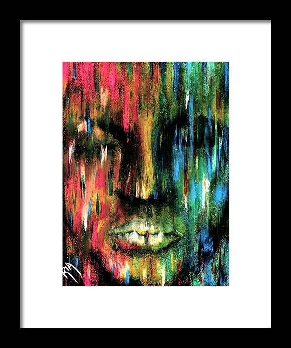 Colorful Framed Print featuring the photograph ColorBlind by Artist RiA