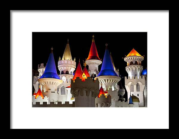 Castle Framed Print featuring the photograph Colorful Castle by Chandru Murugan
