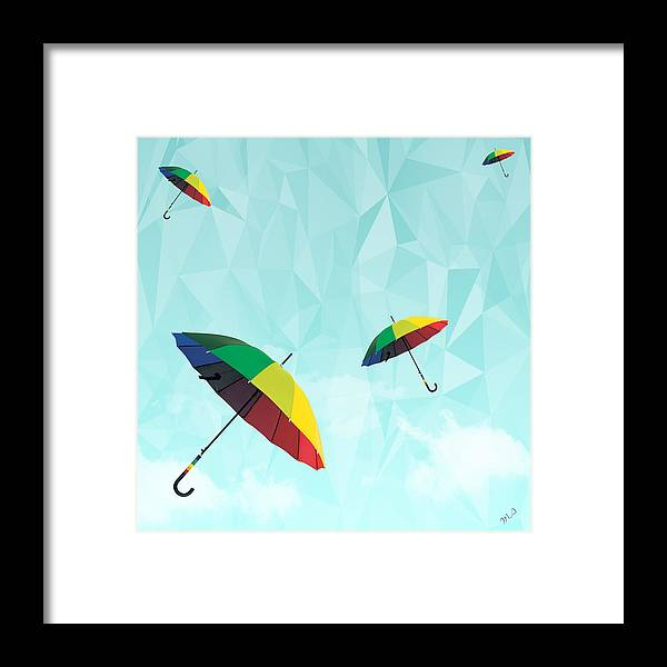 Contemporary Framed Print featuring the photograph Colorful Day by Mark Ashkenazi