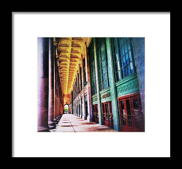 Urban Landscape Framed Print featuring the photograph Colorful by Emily Portugal