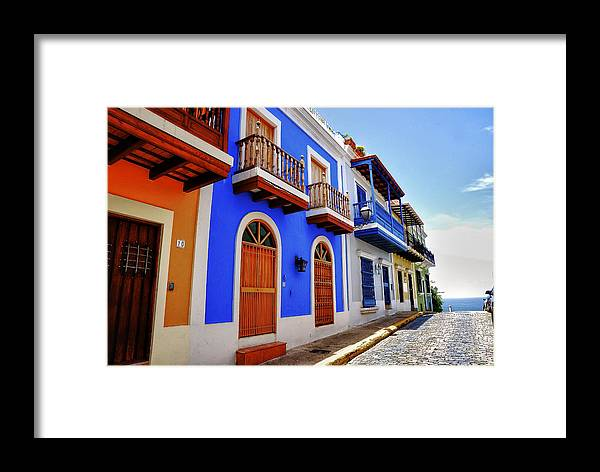 San Juan Framed Print featuring the photograph Colors To Infinity by Pedro Ruidiaz