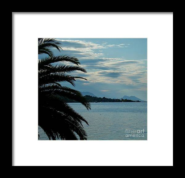 Viganj Framed Print featuring the photograph Come along with me by De La Rosa Concert Photography