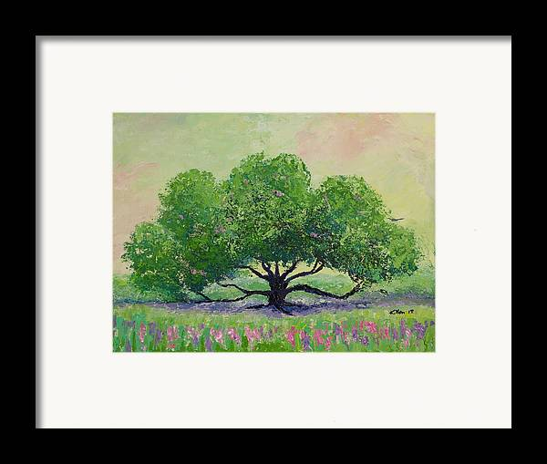 Killen Framed Print featuring the painting Comfort by William Killen