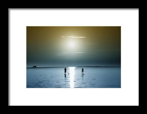 Coming Out Of The Sun Framed Print featuring the photograph Coming Out Of The Sun by Bill Cannon