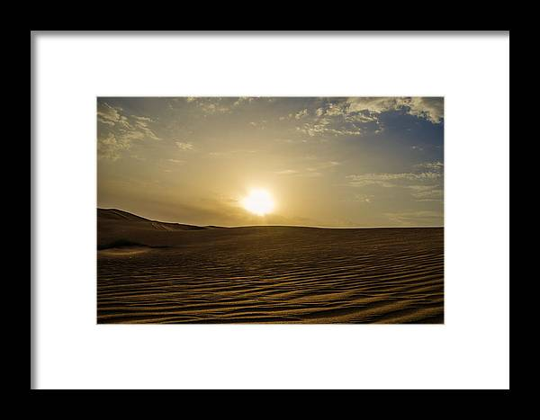 Framed Print featuring the photograph Compound Of Peace by S M Hasan