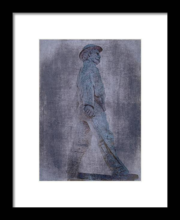 Confederate Framed Print featuring the photograph Soldier Statue Vii Alabama State Capitol by Lesa Fine