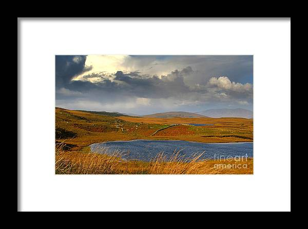 Nature Photography Framed Print featuring the photograph Connemara At Its Best by Annie Japaud