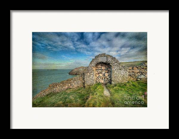 Anglesey Framed Print featuring the photograph Consecrated 1535 by Adrian Evans
