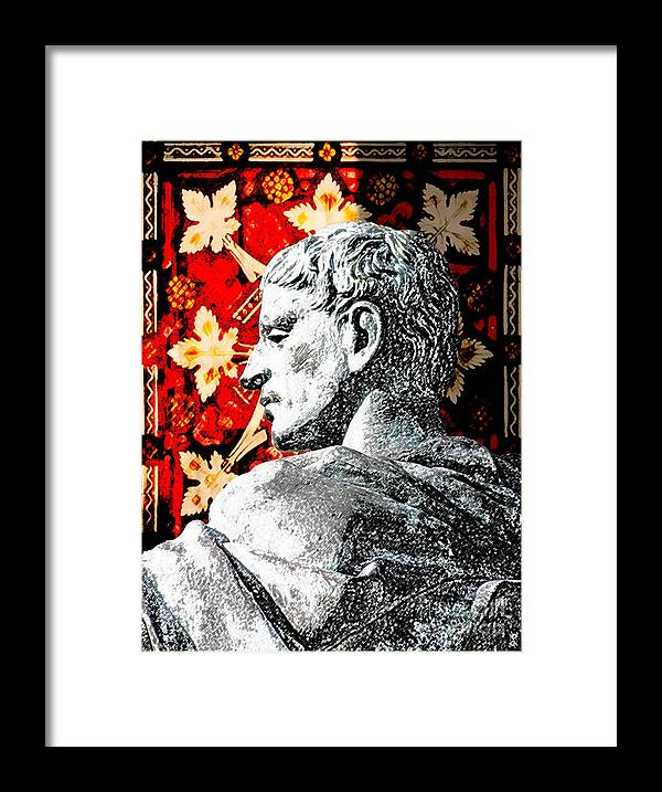 Rome Framed Print featuring the digital art Constantine The Great by Neil Finnemore