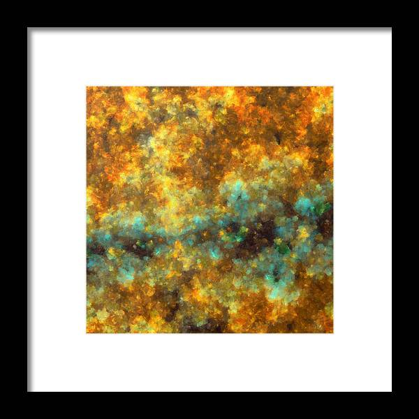 Bruise Framed Print featuring the digital art Contusion-01 by RochVanh