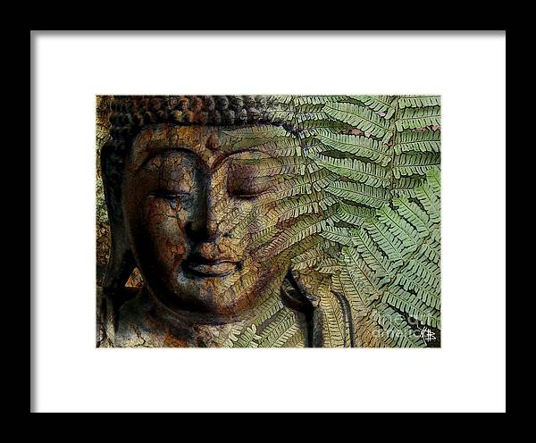 Buddha Art Framed Print featuring the photograph Convergence Of Thought by Christopher Beikmann