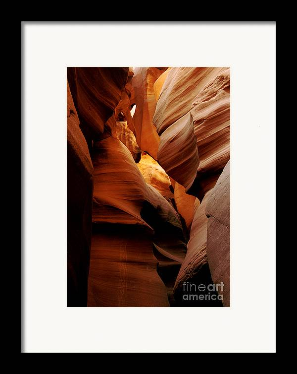 Antelope Canyon Framed Print featuring the photograph Convolusions by Kathy McClure