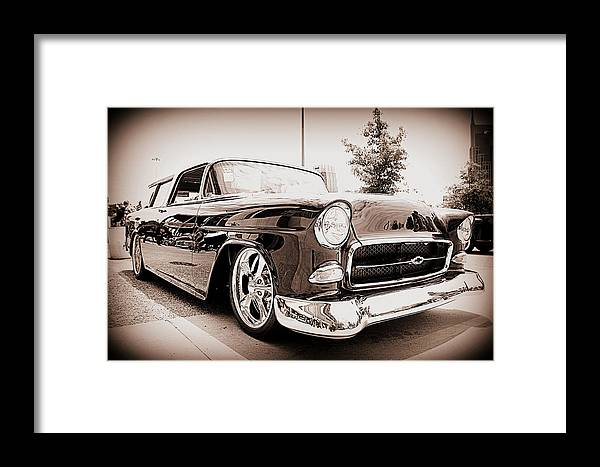 Chevy Framed Print featuring the photograph Cool As Ice by Jen T