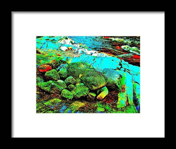 Landscape Framed Print featuring the photograph Coos Canyon 23 by George Ramos