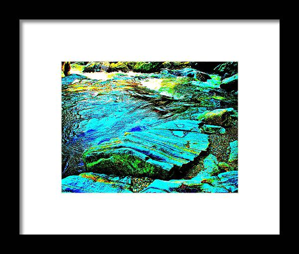 Landscape Framed Print featuring the photograph Coos Canyon 24 by George Ramos