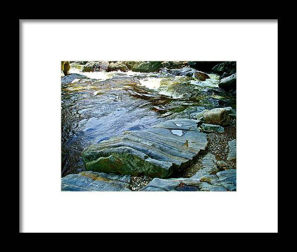 Landscape Framed Print featuring the photograph Coos Canyon 27 by George Ramos