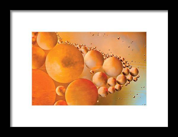 Cosmic Framed Print featuring the photograph Cosmic Copper by Cheryl Schneider