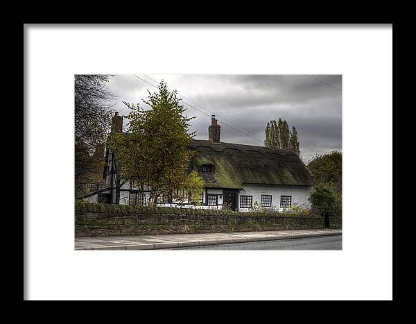 Thatch Cottage Framed Print featuring the photograph Cottage 2 by Spikey Mouse Photography