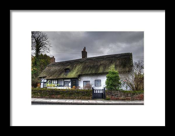 Thatch Cottage Framed Print featuring the photograph Cottage 4 by Spikey Mouse Photography