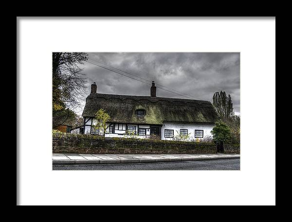 Thatched Cottage Framed Print featuring the photograph Cottage by Spikey Mouse Photography