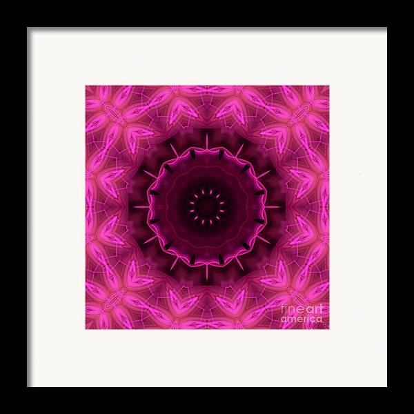 Hanza Turgul Framed Print featuring the digital art Cotton Candy by Hanza Turgul